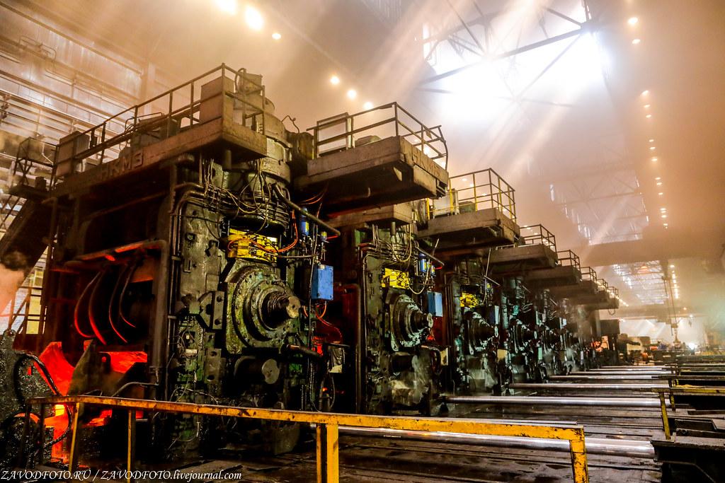 Череповецкий металлургический комбинат и их могучий Стан «2000» 999A1344