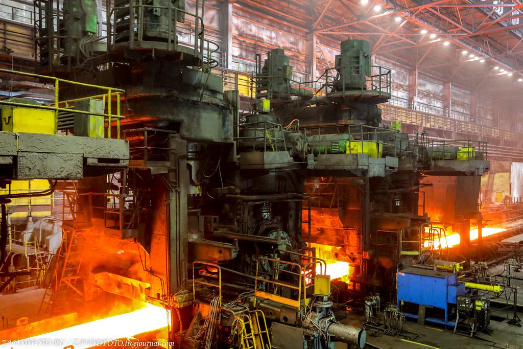 Череповецкий металлургический комбинат и их могучий Стан «2000» 999A1253