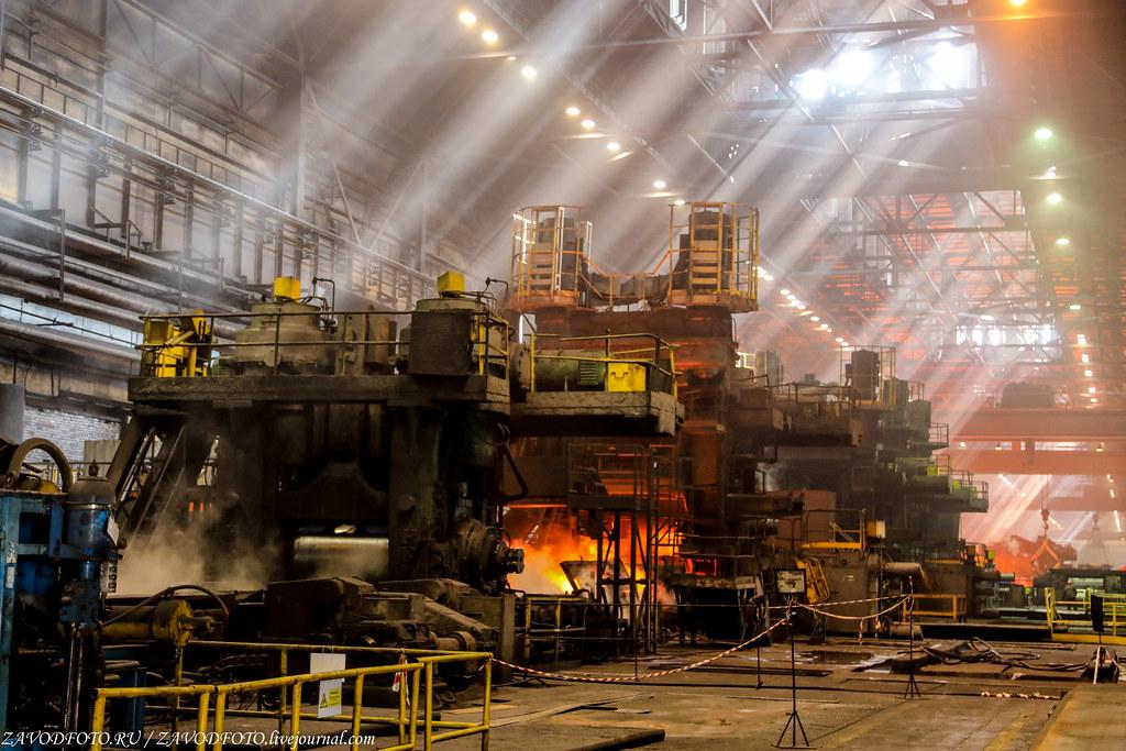 Череповецкий металлургический комбинат и их могучий Стан «2000» 999A1135