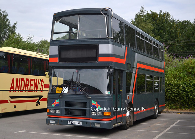 G & L Coaches, Boston T238 JAL (Ex Dublin Bus 99-D-573)