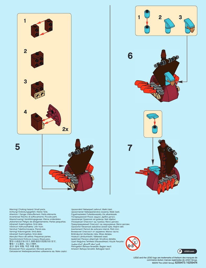 LEGO MMB March 2019 Viking-Ship