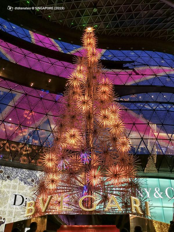 2019 Singapore Orchard Road Christmas Lighting
