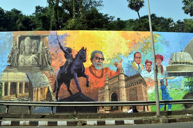 Mural in Mumbai,India