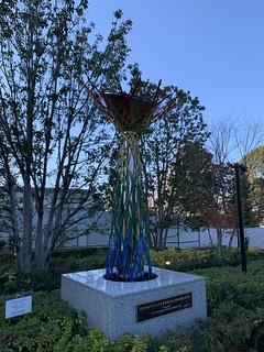 オリンピックミュージアム, 長野聖火台