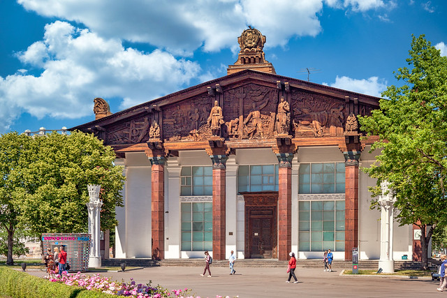 ExUSSR pavilion on VDNH (Moscow, Russia)