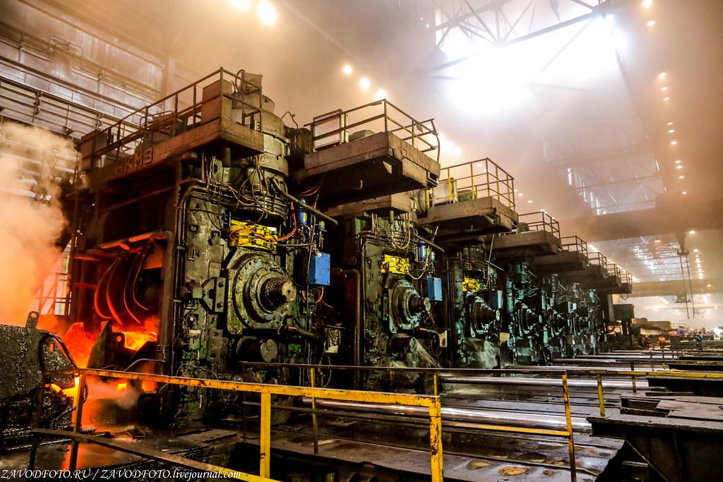 Череповецкий металлургический комбинат и их могучий Стан «2000» 999A1300
