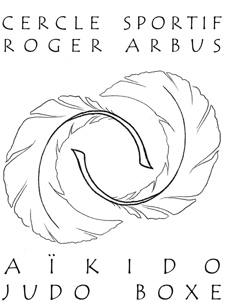 Cercle sportif Roger ARBUS logo de 2 plumes
