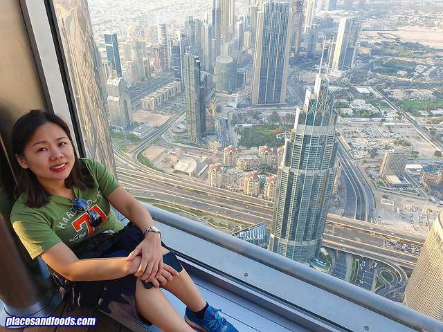 burj khalifa observation deck places and food