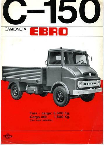 petit camió Ebro C150