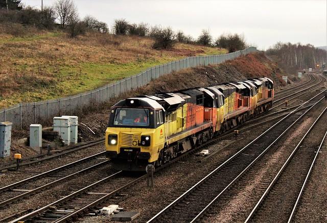 COLAS Rail 70808,70802 a 70806 - Chetserfield