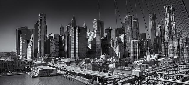 The City from Brooklyn Bridge