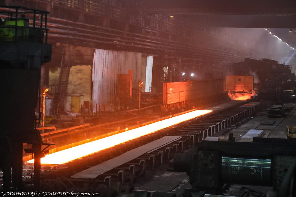 Череповецкий металлургический комбинат и их могучий Стан «2000» 999A1220