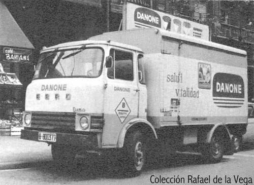 camio Ebro D150 Danone roda senzilla