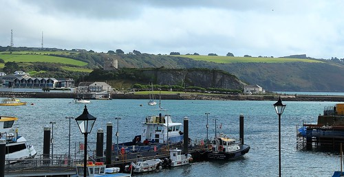 europe england devon plymouth harbour sea simplysuperb boats cloudysky