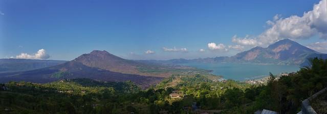Lake Batur Panorama