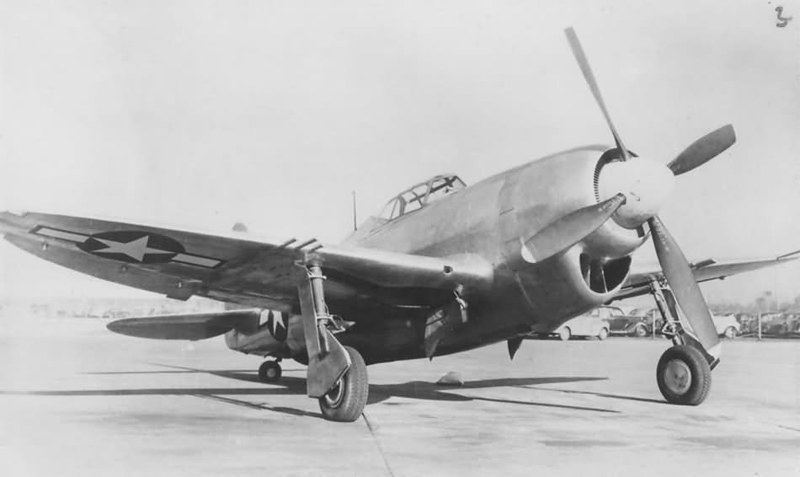 usaac-official: The XP-47J Superbolt, one of several attempts to wring yet more performance from the P-47 airframe.
