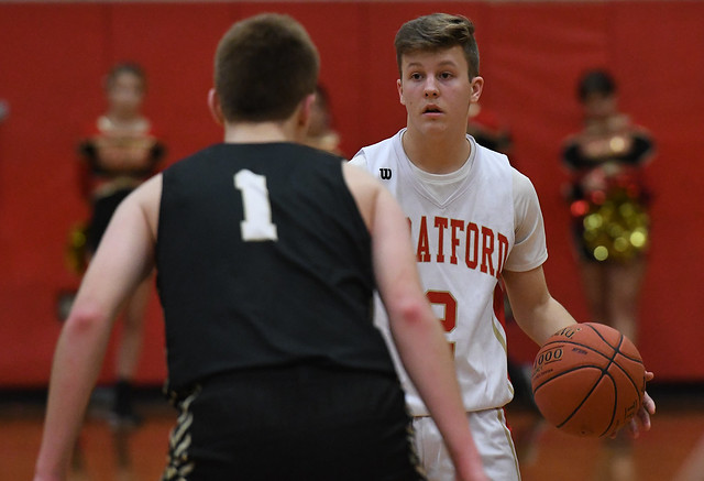 Barlow at Stratford Boys Basketball
