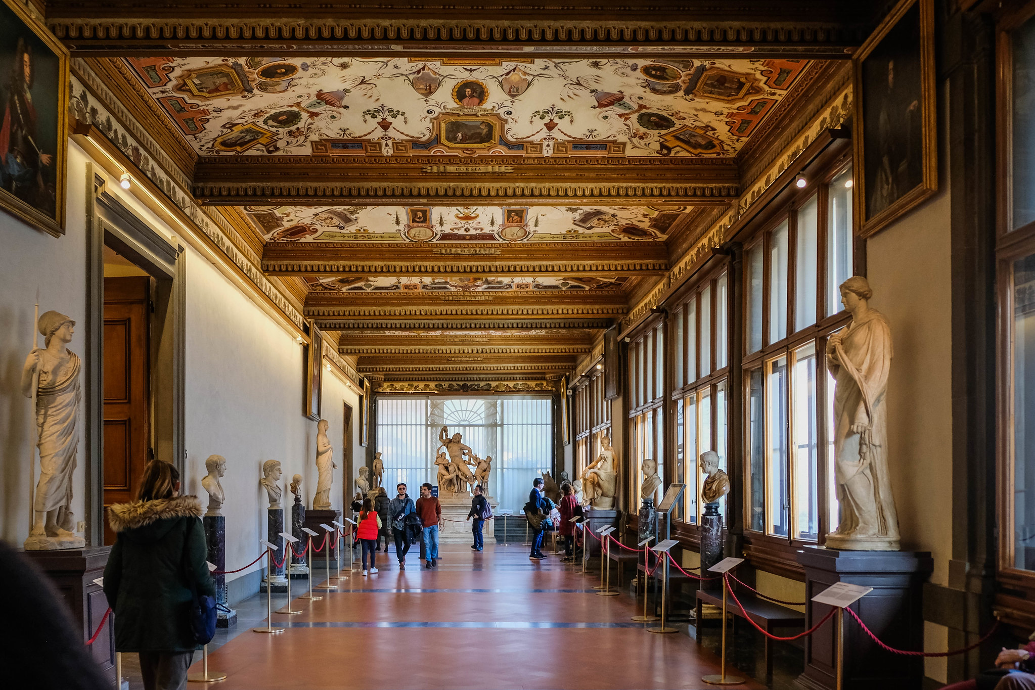 Hallways of the Uffizi
