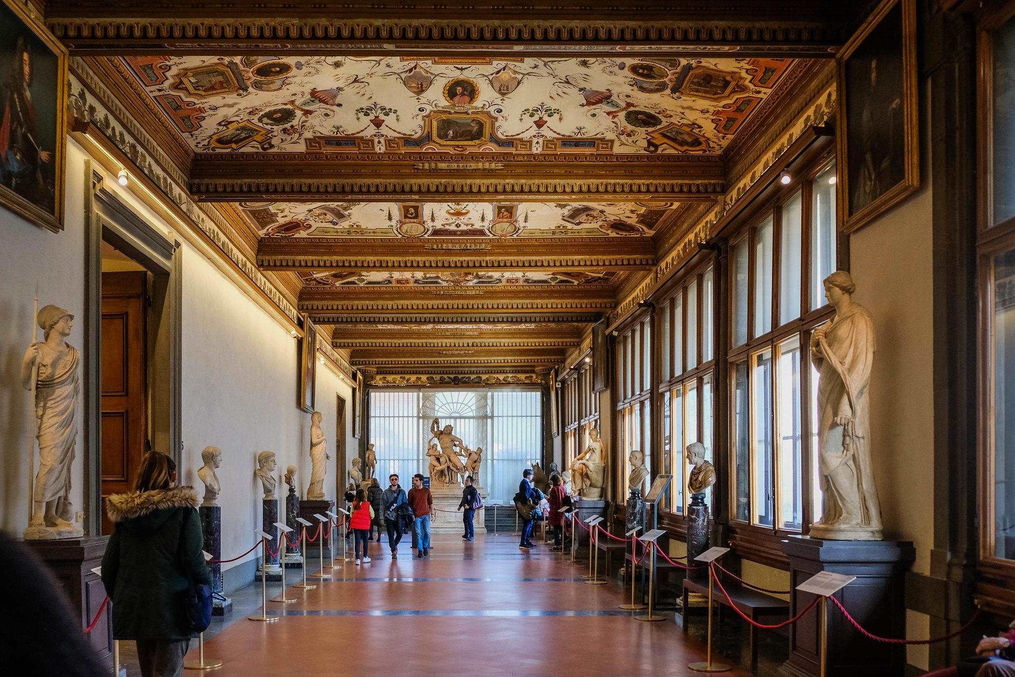 Hallways of the Uffizi