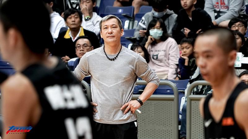 松山高中教練黃萬隆。(資料照。記者賴柏安/現場拍攝)