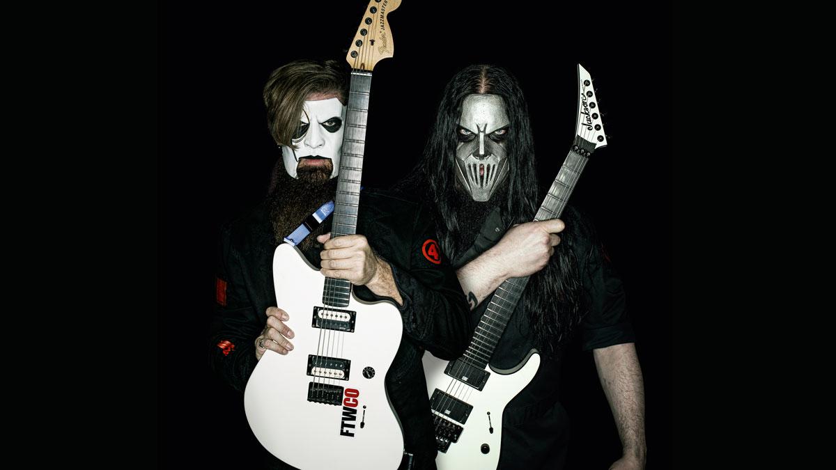 美國重金屬樂團Slipknot吉他手Jim Root和Mick Thomson受獎為世界最佳重金屬吉他手 1