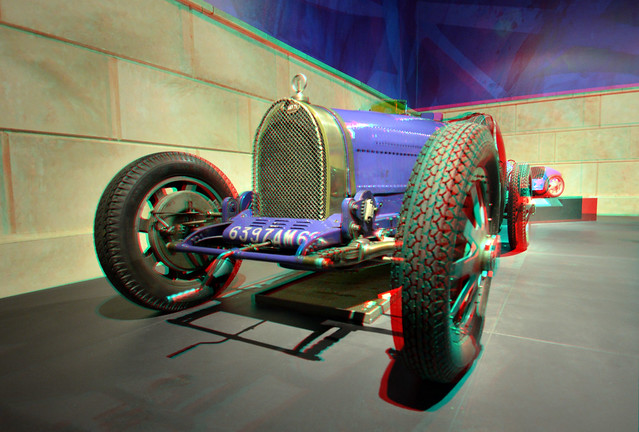 Bugatti Louwman Museum 3D anaglyph
