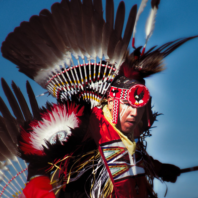 Innu Warrior —  Maliotenam Pow wow