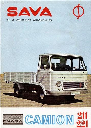 catàleg portada camió Sava 211 ENASA