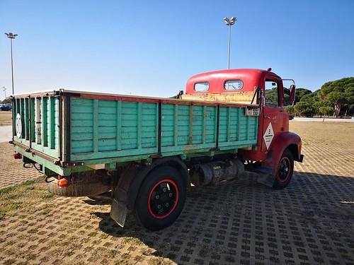 camió Ebro B15 posterior