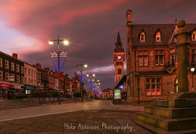 West Row Christmas Sunset