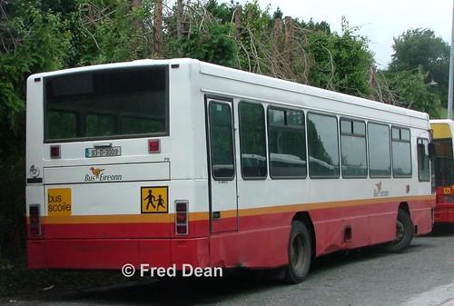 buseireann august2004 bus schoolbus busscoile buseireanncavandepot cavan daf sb220 plaxton verde p9 93d3009 dublinreg
