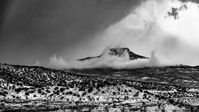 Winter Storm Approaches The Pedernal
