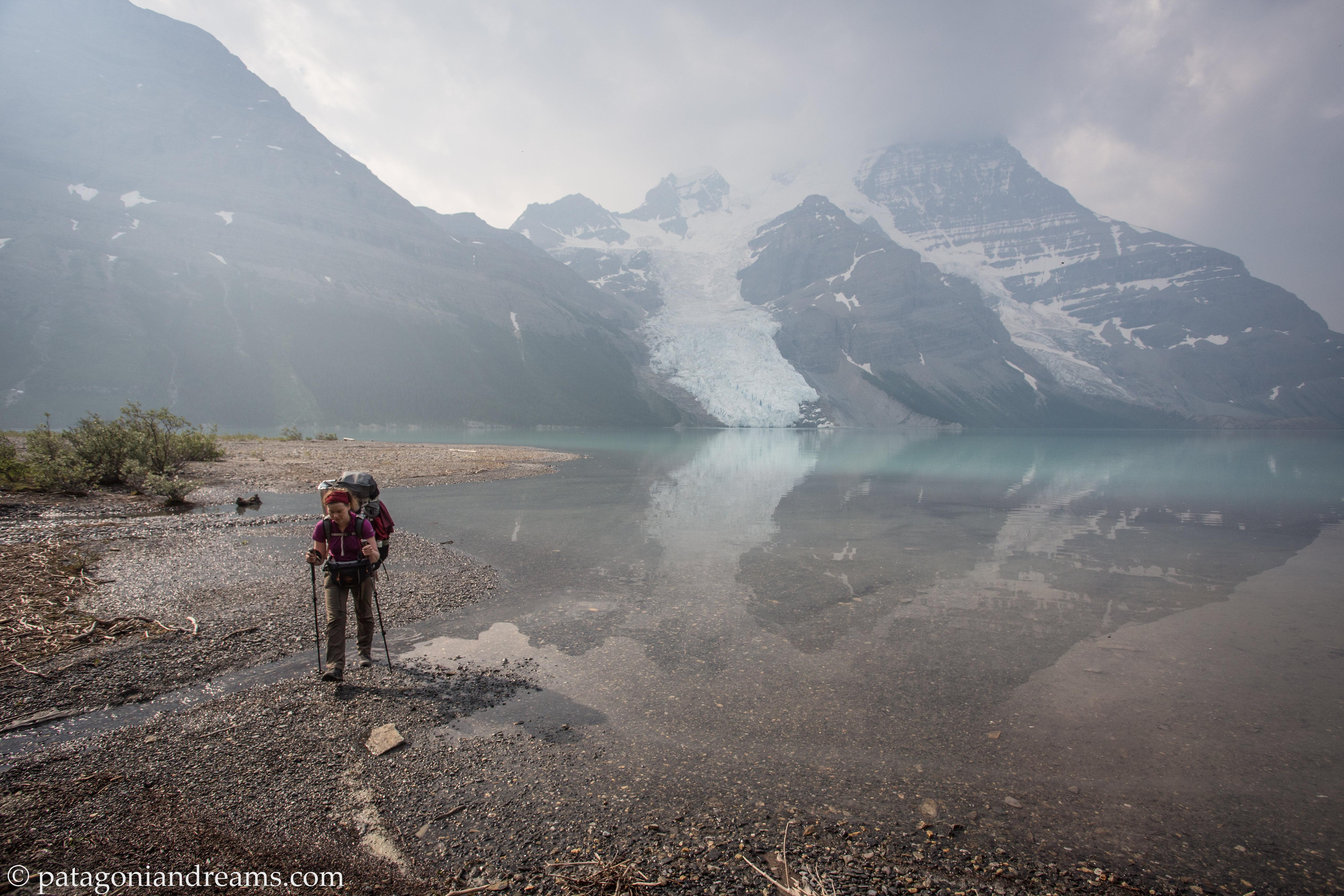 Berg Lake reflections!