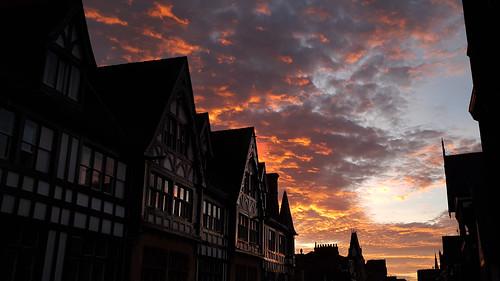 sunset chester chesterwalls