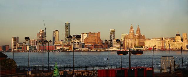 Liverpool Skyline from Birkenhead