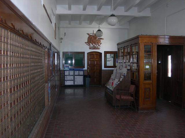 Springerville AZ Post Office Relief & Lobby