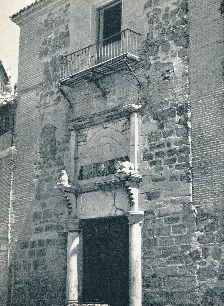 Palacio de Fuensalida en Toledo hacia 1967 por Marc Flament