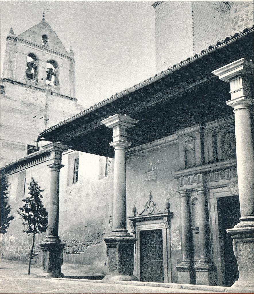 Santo Domingo el Real en Toledo hacia 1967 por Marc Flament