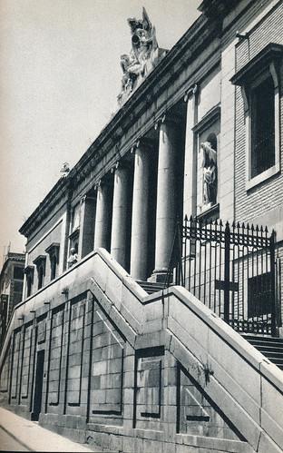 Instituto del Cardenal Lorenzana en Toledo hacia 1967 por Marc Flament