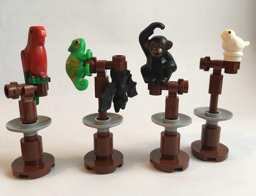 Lego Harry Potter: Animal Perches (Transfiguration lesson)