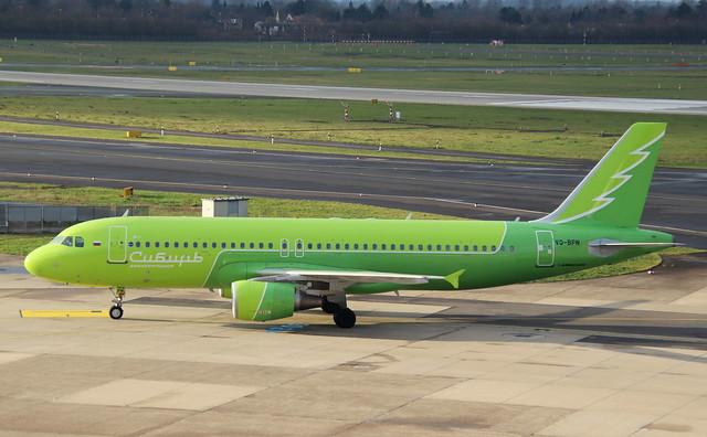 S7 Siberia Airlines, VQ-BPN, MSN 5167, Airbus A 320-214, 27.12.2019, DUS-EDDL, Düsseldorf (Siberia Airlines livery)