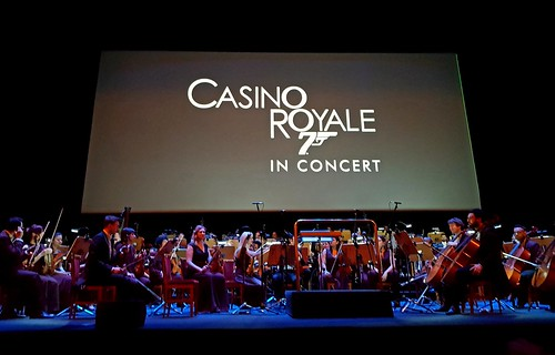 Casino Royale in concret. Teatro Real, Madrid.