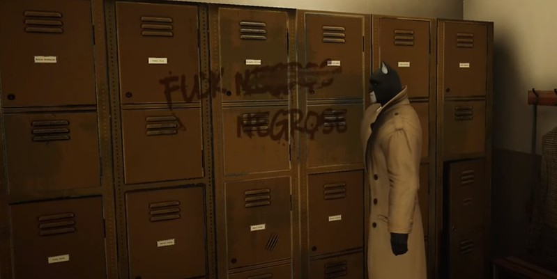 Blacksad - Locker Room Slur