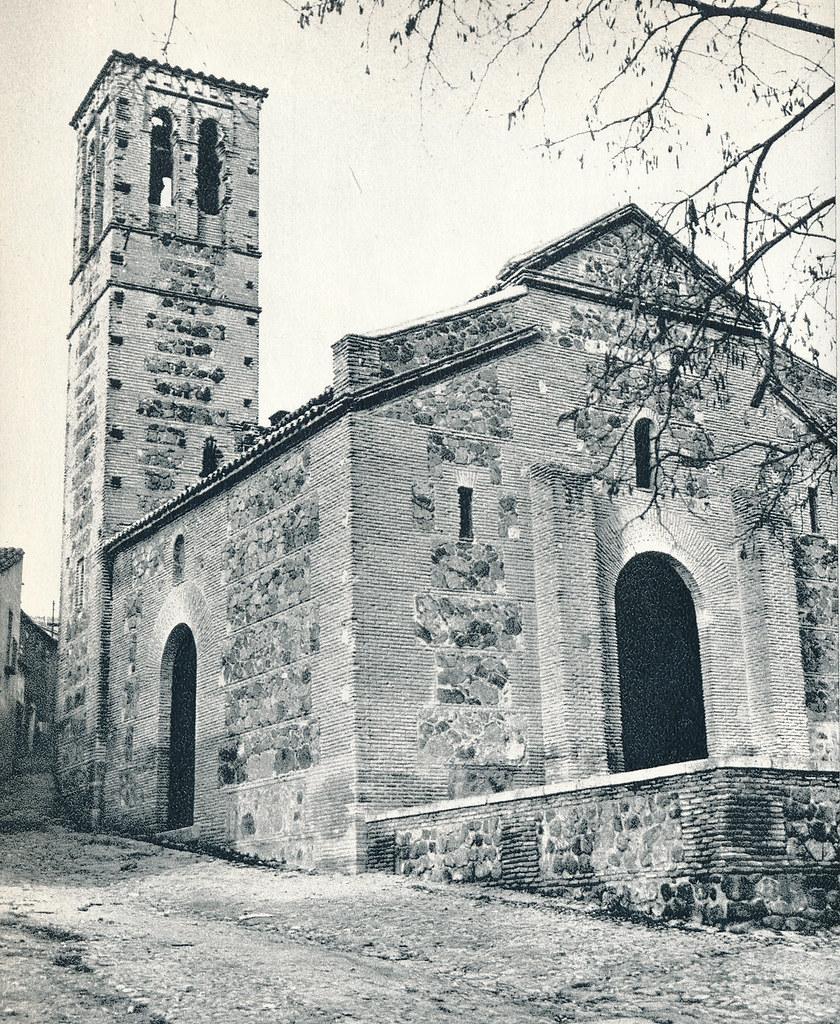 Iglesia de San Sebastián en Toledo hacia 1967 por Marc Flament