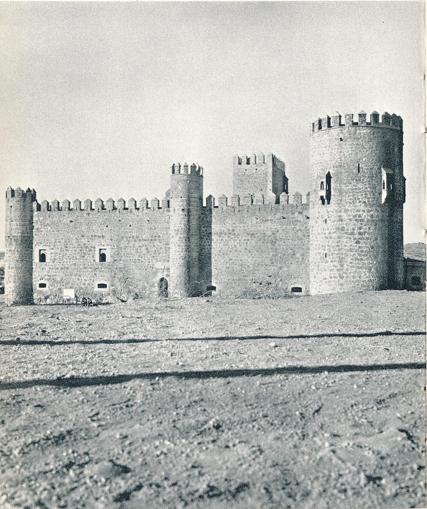 Castillo de San Servando en Toledo hacia 1967 por Marc Flament