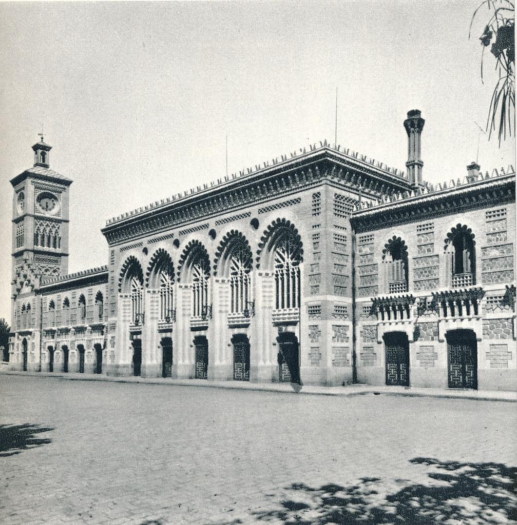 Estación de Ferrocarril en Toledo hacia 1967 por Marc Flament