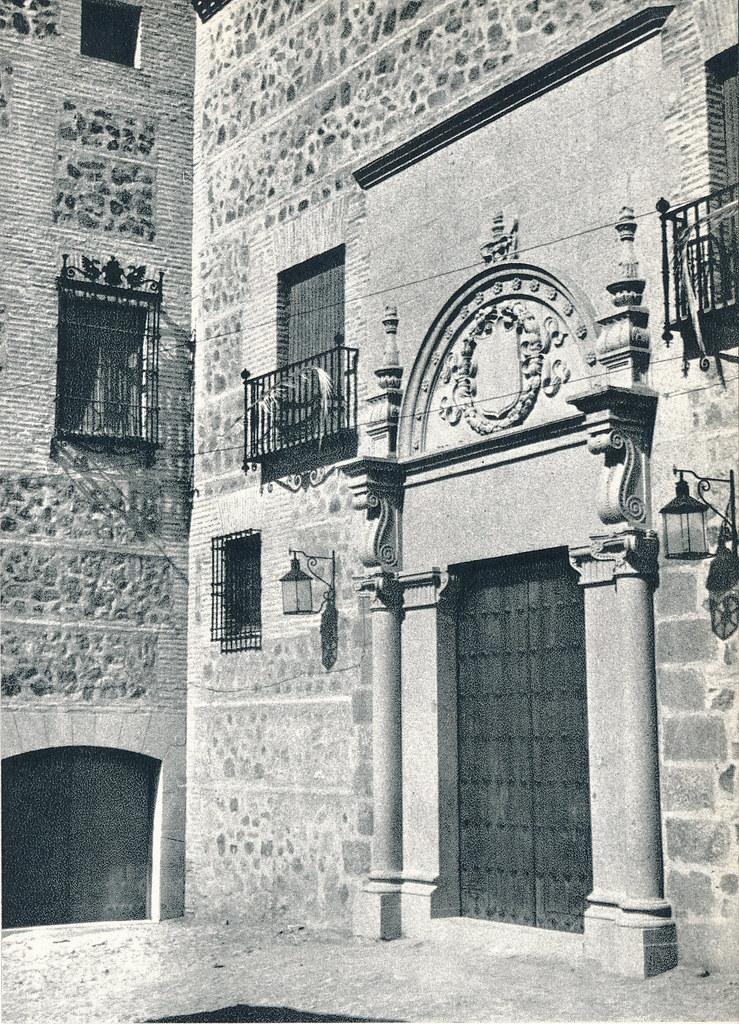 Palacio de Munárriz en Toledo hacia 1967 por Marc Flament