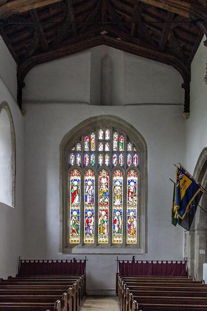 Church of St Mary, Bibury, Gloucestershire, England