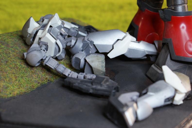 """Vignette """"Terminator... Terminated"""" Nouvelle version [Reginlaze et Zogok Bandai 1/144] 49295256491_4cb6fa3dee_c"""
