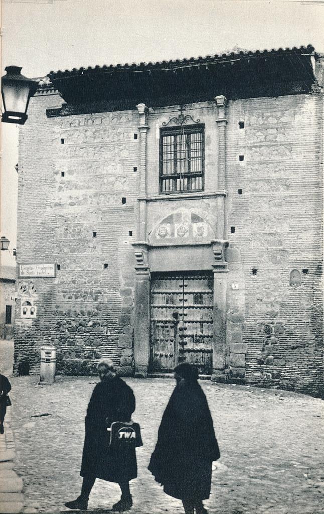 Palacio conocido como el de Pedro I el Cruel en Toledo hacia 1967 por Marc Flament